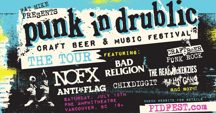 NOFX, Bad Religion to headline new craft beer and music festival in Vancouver