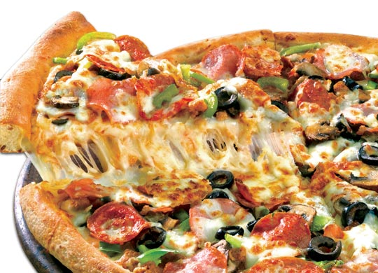 Ranking Fast Food Pizza Places