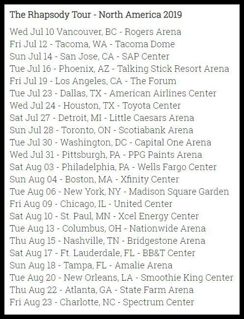 Queen Adam Lamberts 2019 Tour Kicks Off In Bc