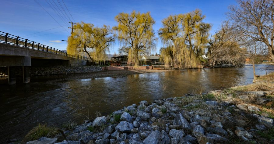 <who>Photo Credit: NowMedia</who>This story will provide updated numbers on Mission Creek's outflow each morning.