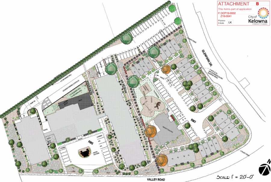 Large townhome and senior living development proposed to council