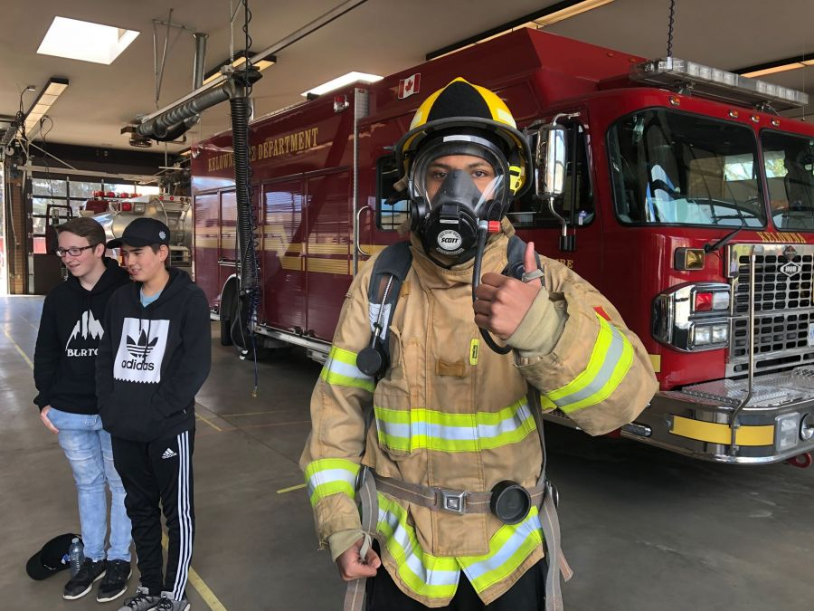 Boot camp ignites interest in firefighting