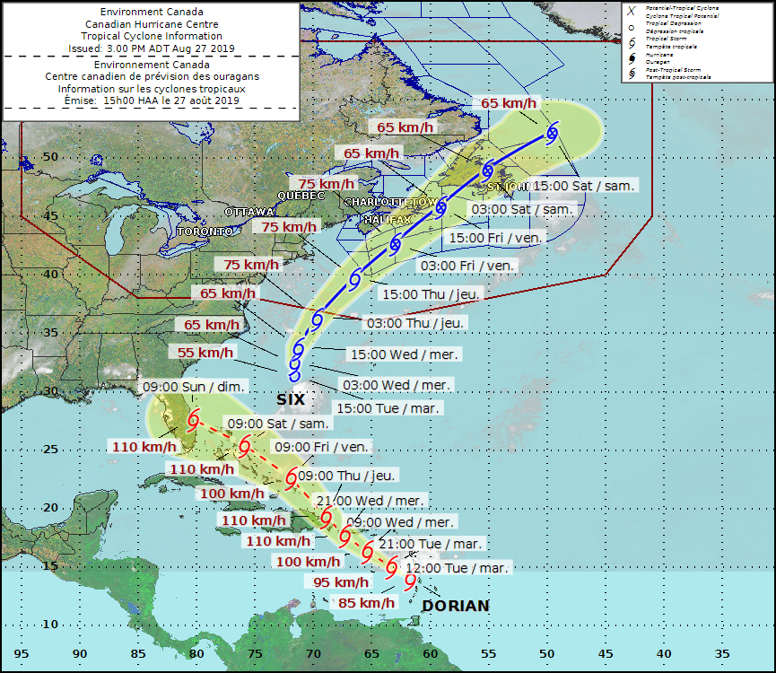 DORIAN RADAR: Hurricane heads for Florida after brushing Caribbean islands