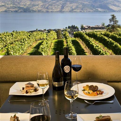 6 okanagan establishments make canada s top 100 outdoor for Terrace cafe opentable