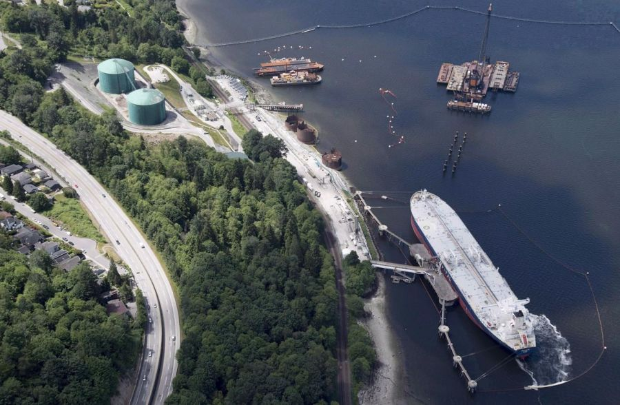 Kinder Morgan Canada posts $1.35B Q3 income on Trans Mountain sale