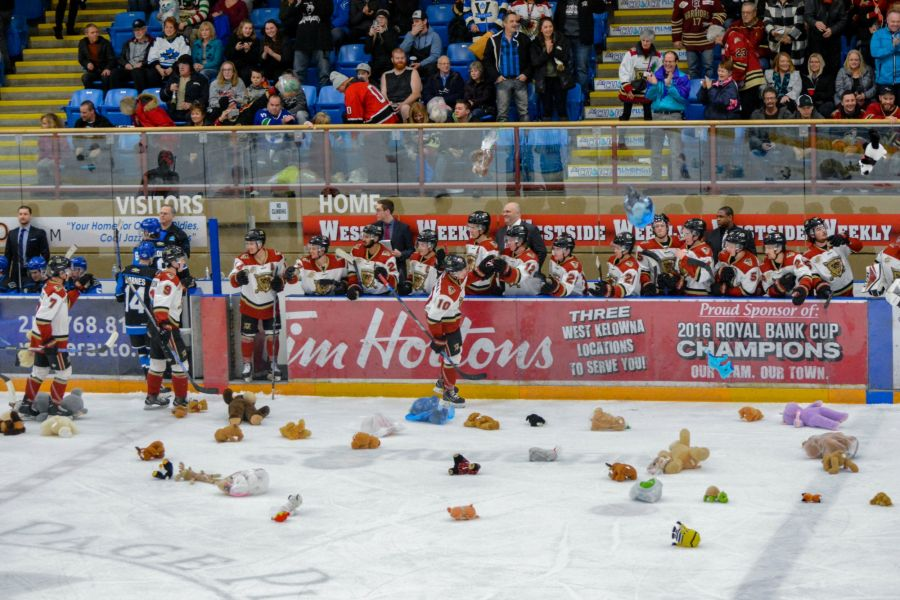 The teddy bears will fly at Royal LePage Place this weekend