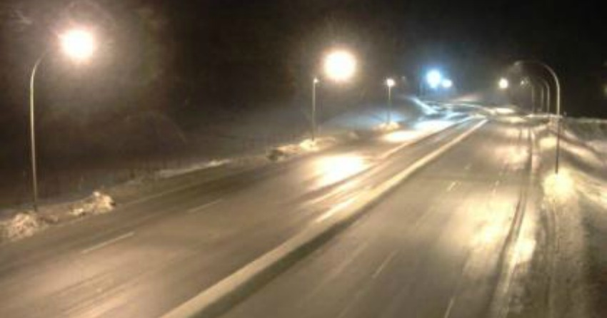 Freezing rain warning in effect for the Okanagan Valley