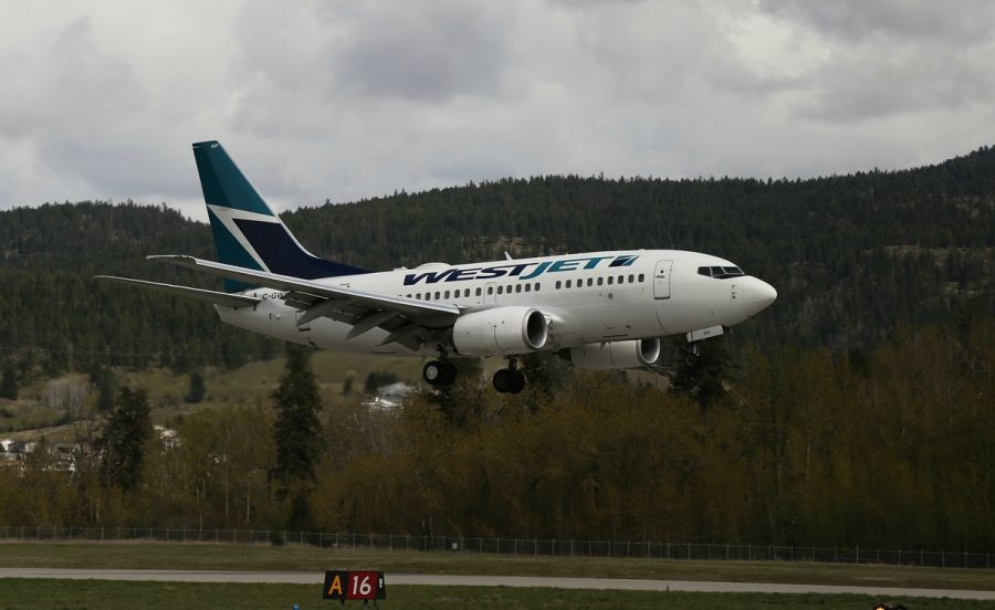 WestJet increases service to and from Kelowna