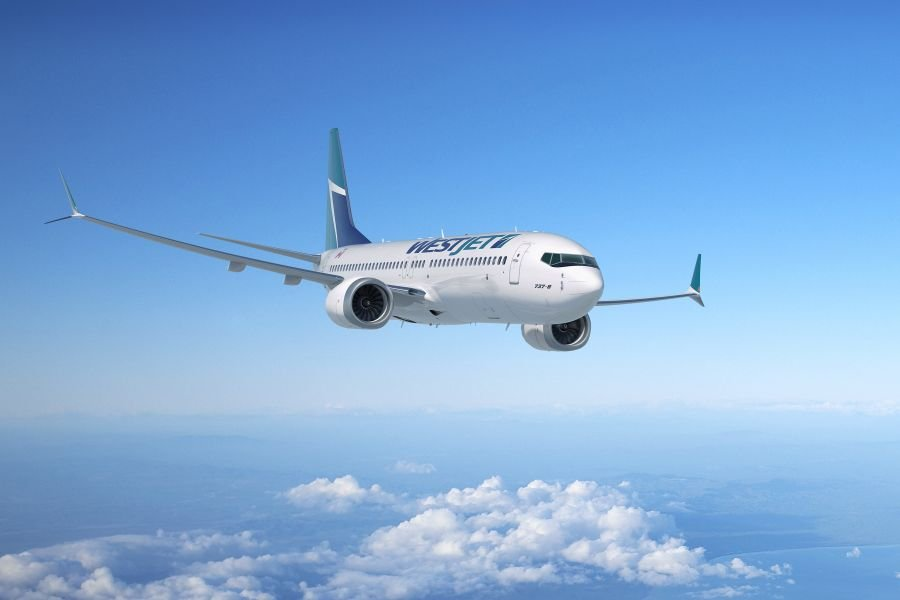 <who>Photo Credit: WestJet