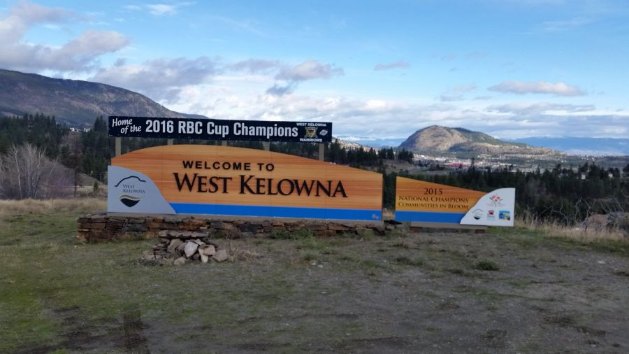 West Kelowna Is Getting New Entrance Signs