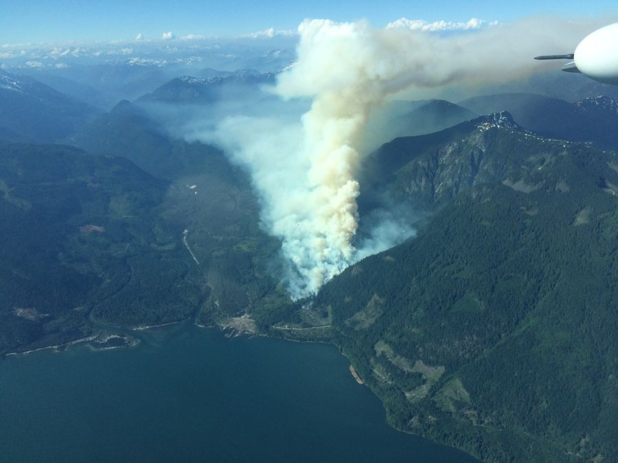 Majority of BC wildfires human caused in 2017