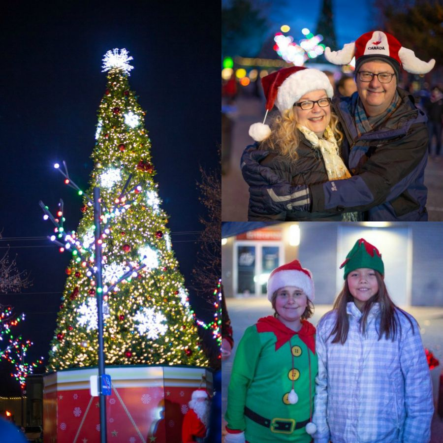 Get into the holiday spirit with Uptown Rutland's Christmas Light Up