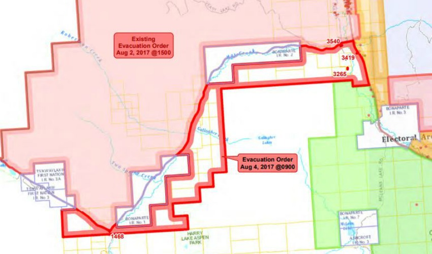 UPDATE Elephant Hill Fire Causes Evacuation Order Near HWY - Us electoral map fire