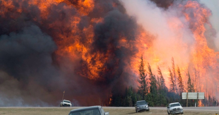 Summer 2017 forecast predicts higher risk of forest fires in Canada