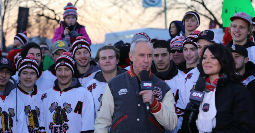 Ron MacLean bringing Hometown Hockey to Collingwood