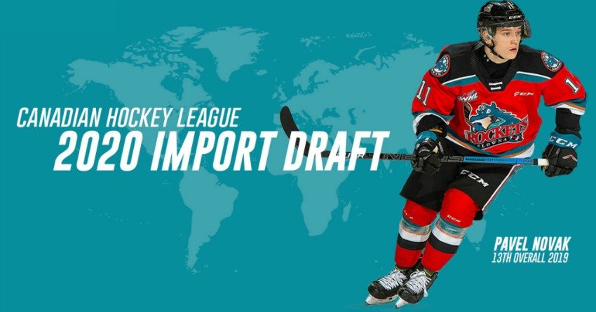 Rockets hoping to find another impact player in 2020 CHL Import Draft