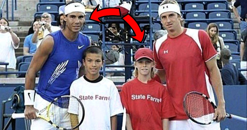 Video Long Before He Beat Rafael Nadal Denis Shapovalov Was His Mascot At The 2008 Roger S Cup