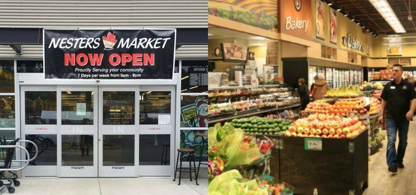 Airport village grocery store opens its doors