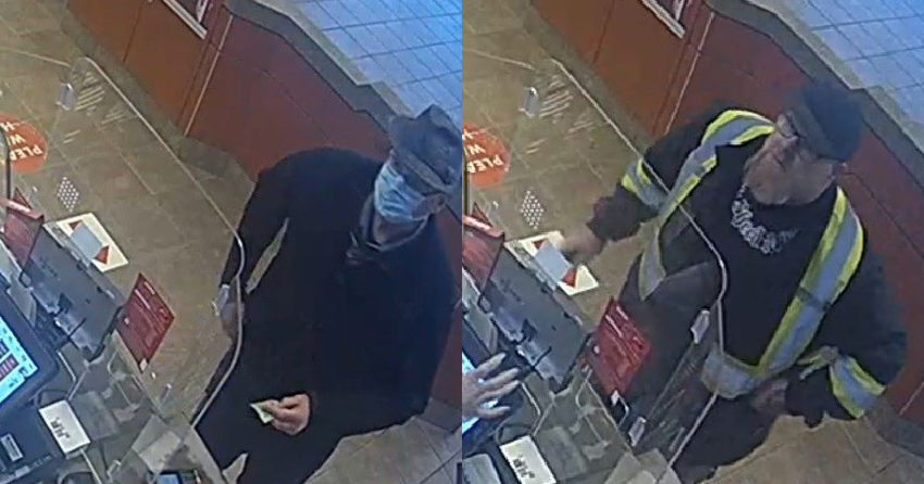 Police searching for Interior men who allegedly defecated on floor of local Tim Horton's