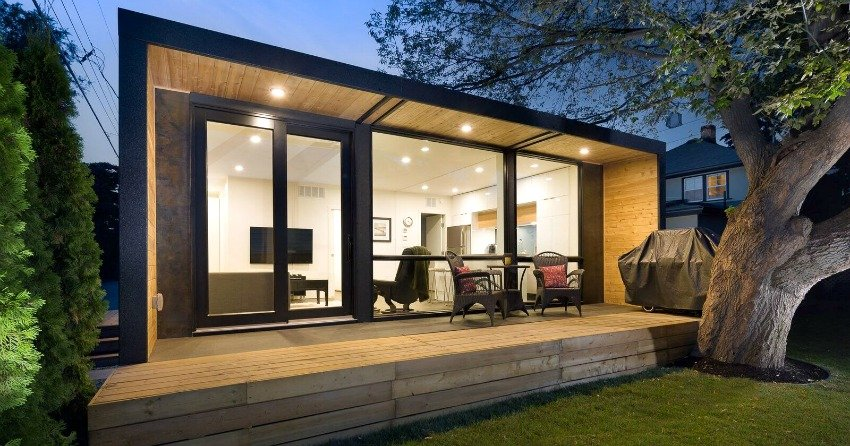 Quick Efficient And Affordable Shipping Container Carriage Homes