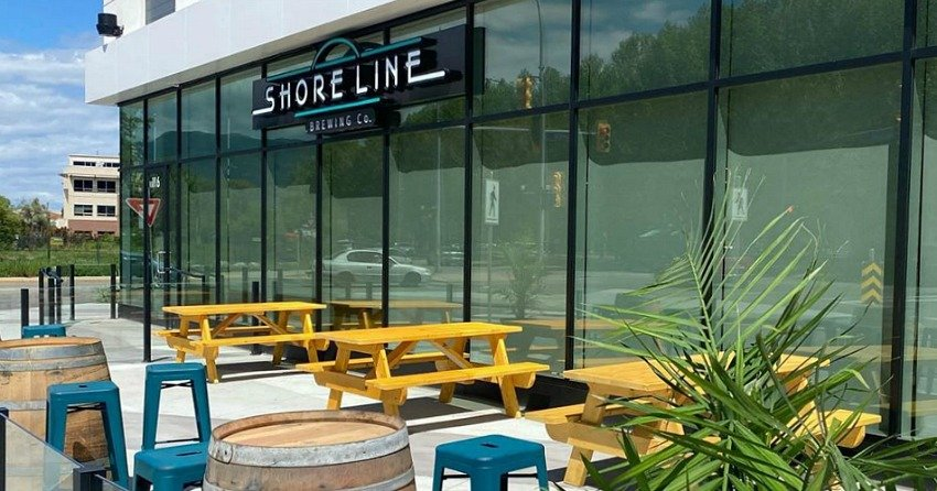 Kelowna's newest brewery has opened up near Gyro Beach