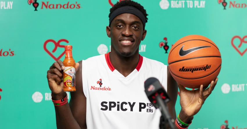Toronto Raptors' star Pascal Siakam launches hot sauce