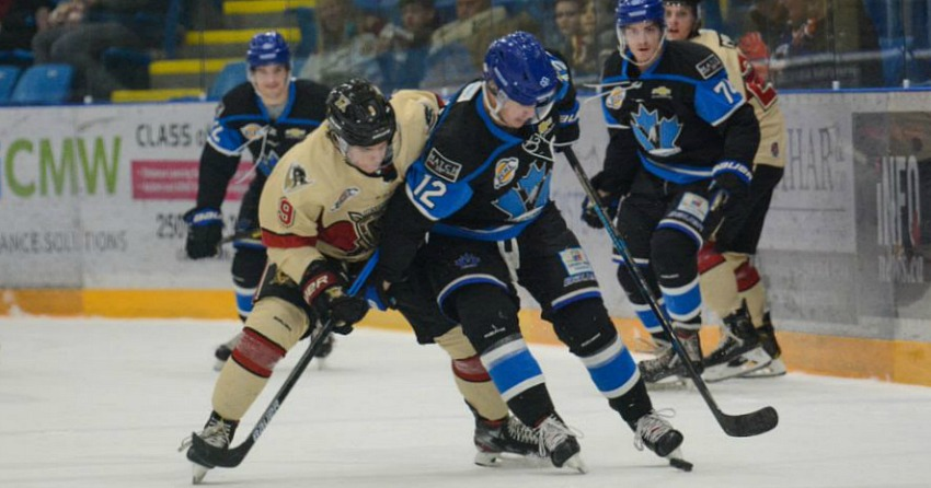 Warriors and Vees to meet in 1st round of BCHL playoffs