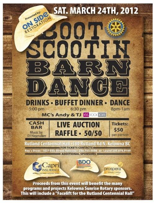 Boot Scootin Barn Dance