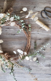Fall Feathered Wreath Workshop