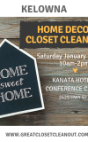 Home Decor Closet Cleanout