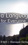 Learning a Language: nsyilxcən for Everyone