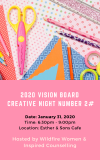 2020 Vision board Creative Nightg