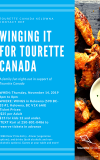 WINGing it for Tourette, a fun family night out!