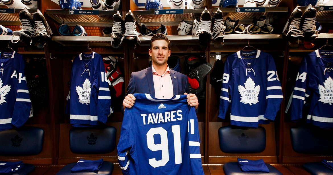 e6059916916 The Toronto Maple Leafs are betting favourites to win the Stanley Cup after signing  John Tavares