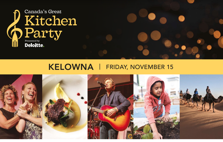 Canada's Great Kitchen Party Kelowna