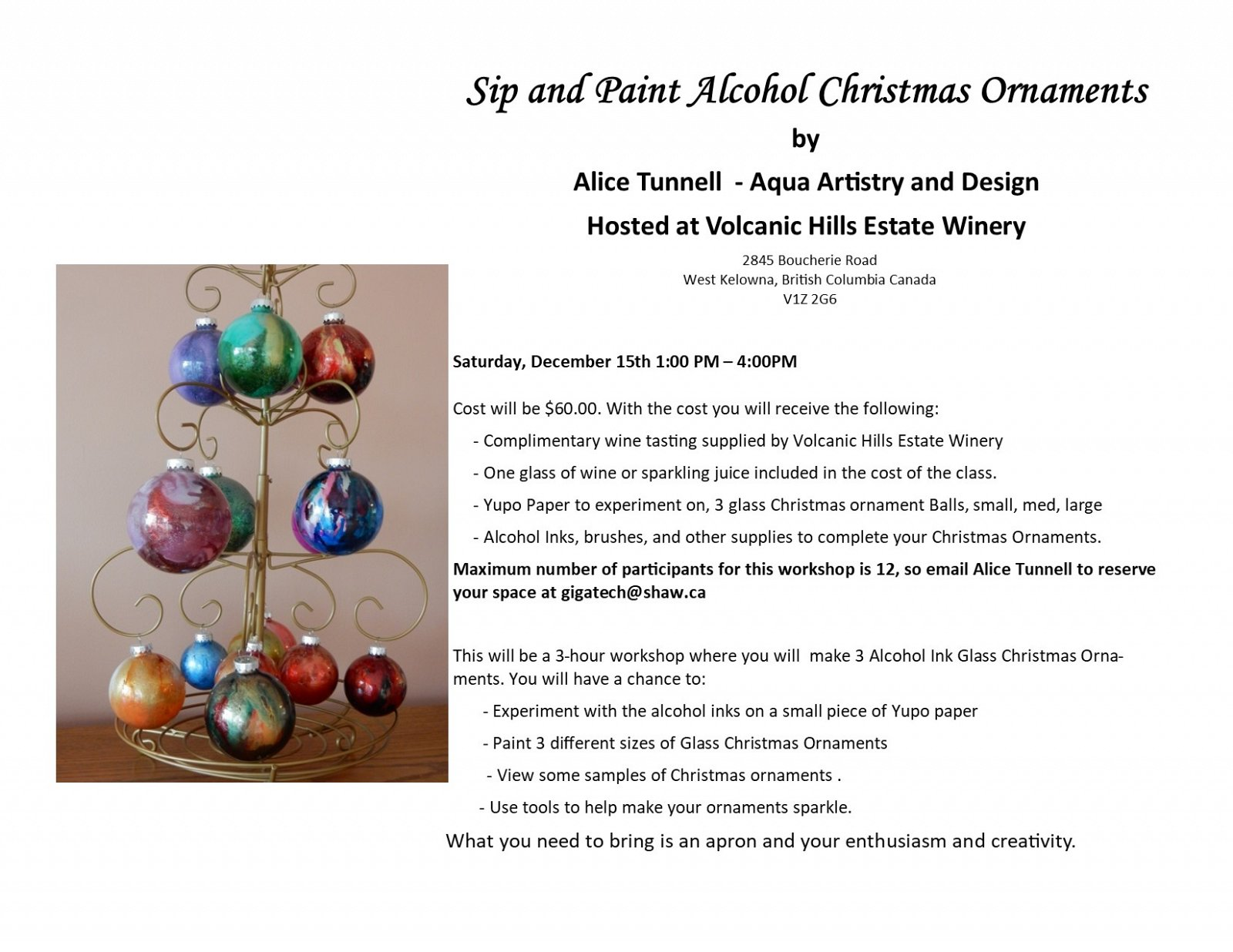 Alcohol Ink Christmas Ornaments.Sip And Paint Alcohol Ink Christmas Ornaments