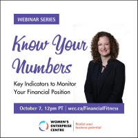 Oct 7 Webinar | Know Your Numbers: Key Indicators to Monitor Your Financial Position