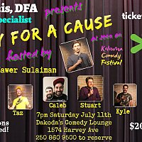 Comedy for a Cause for Okanagan Boys & Girls Clubs