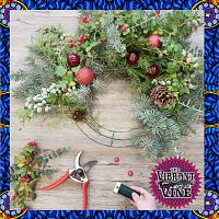 Handcrafted Holiday Wreath Workshop