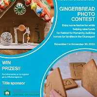 Gingerbread House Photo Contest