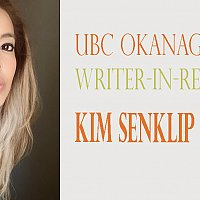 UBCO Hosts Public Talk with Writer in Residence