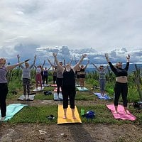 Yoga In The Vineyard With Live Music & Wine At The View Winery!!