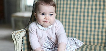 Princess Charlotte Photos Take Over the Internet