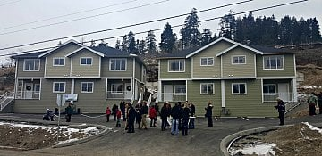 Okanagan Families Move into Donated Homes