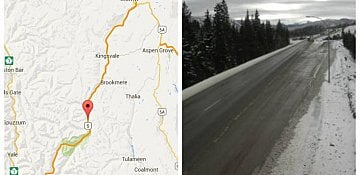 Alcohol and Speed Suspected Factors in Coquihalla Crash