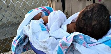 Newborn Found Buried Alive in California