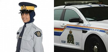RCMP officers can now wear a hijab on duty