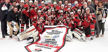 Warriors national champions with 4-0 win in RBC Cup final