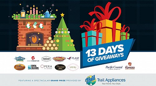 KelownaNow's 13 Days of Giveaways starts tomorrow!