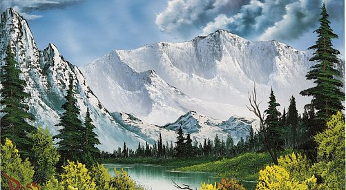 'Blockbuster' Bob Ross exhibition at Penticton Art Gallery bumped 'til July